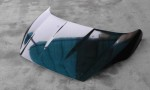 Přední kapota 2013 s vnitřním rámem. Cena v základním provedení: 4200,- Kč. Hmotnost výrobku cca od 3,9 kg