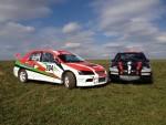 Mitsubishi Lancer EVO IX -Martin a Pavel Svobodovi.