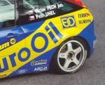 Zadní blatník WRC.