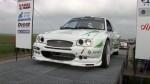 Na tomto voze se malinko vyřádily.Blatníky a prahy jsou z rallycrossového Escorta WRC.Kapota upravena z  verze Cosworth.Světla a masska z kulatého Escorta a přední spoiler je rozšířený z Escort Cosworth rallycrossové verze.