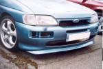Přední nárazník Ford Escort ,, jako Cosworth ,,.Upraveno .Prodloužený na stranách pro sériový Ford Escort . Cena v základním provedení: 3 800,- Kč