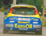 Zadní nárazník Ford Focus WRC. Váha cca 3 kg.