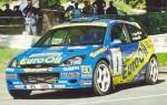 Přední nárazník WRC.