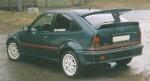 Opel Kadett E GSI .Sada doplňků ( přední spoiler,lemy,prahy ).Cena v základním provedení: 4 250,- Kč