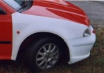 Blatník přední R . Octavia KIT/WRC 1. Cena v základním provedení:2500,- Kč
