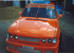 Nástavba přední kapoty Škoda 105-130.Cena v základním provedení : 2 650,- Kč