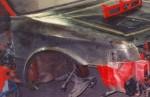 Blatník přední - Mazda 323.Cena v základním provedení: 1 500,- Kč