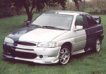 Přední nárazník Ford Escort,, Jako WRC,, . Cena v základním provedení: 3 800,- Kč