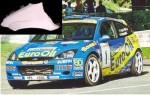 Přední blatník WRC L. Váha cca 4 kg.