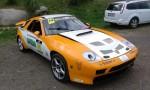 Přední blatník levý a pravý.Porsche 928.Cena v základním provedení za pár: 7 000,- Kč Na přední kapotě provedena individuální úprava.