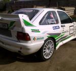 Zadní blatníky Escort Cos. WRC. - Kat.číslo: MSFEWRC0722, Křídlo Escort Cos.WRC. - Kat.číslo: MSFEWRC0718